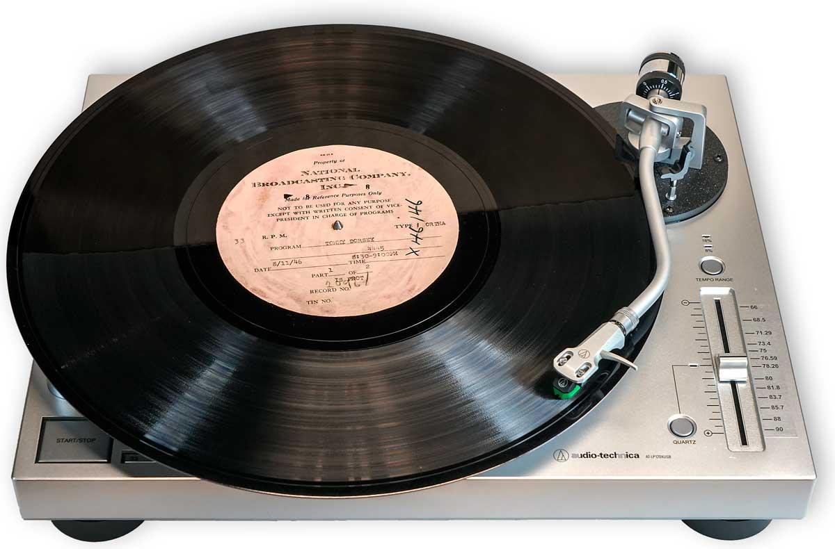 Audio Technica Usb And Transcripion Turntable